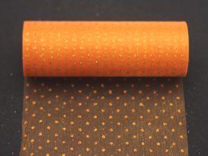 `Фатин с люрексом, средняя жесткость, ширина 15 см, цвет: Q20