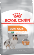 Royal Canin Mini Coat Care Корм для собак с тусклой и сухой шерстью, 3кг