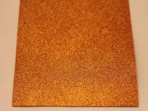 """Фоамиран """"глиттерный"""" Китай, толщина 2 мм, размер 20x30 см, цвет № Ф019 (1 уп = 10 листов)"""