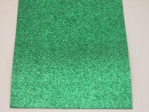 """Фоамиран """"глиттерный"""" Китай, толщина 2 мм, размер 20x30 см, цвет № Ф021 (1 уп = 10 листов)"""
