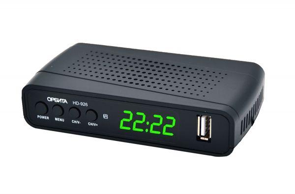Ресивер DVB-T2 Орбита HD926 +HD плеер 1080i
