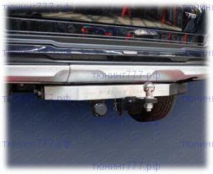 Фаркоп (тсу) ТСС, тяга 1.5т, логотип Fortuner для версии TRD