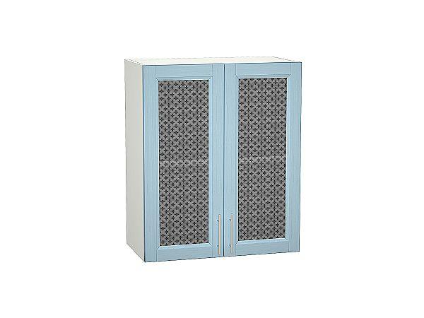 Шкаф верхний Сканди В600 со стеклом Sky Wood