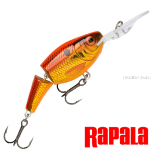 Воблер Rapala Jointed Shad Rap JSR09 90 мм / 25 гр / Заглубление: 3,3 - 5,4 м / цвет: OSD