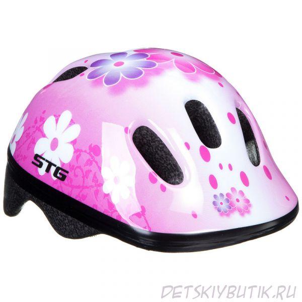 """Шлем велосипедный детский STG """"MV6-2-K"""", размер XS"""