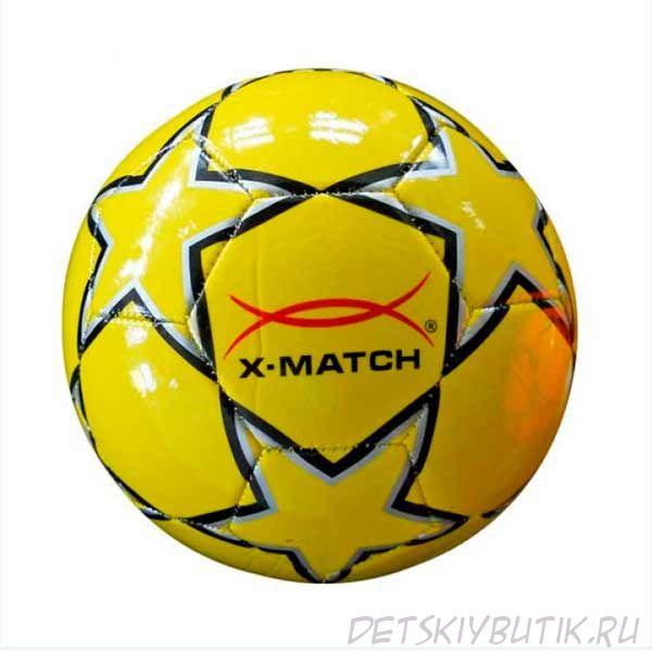 Мяч футбольный «X-Match» в ассортименте