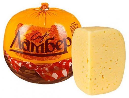Сыр Ламбер 50% 1кг ВБД
