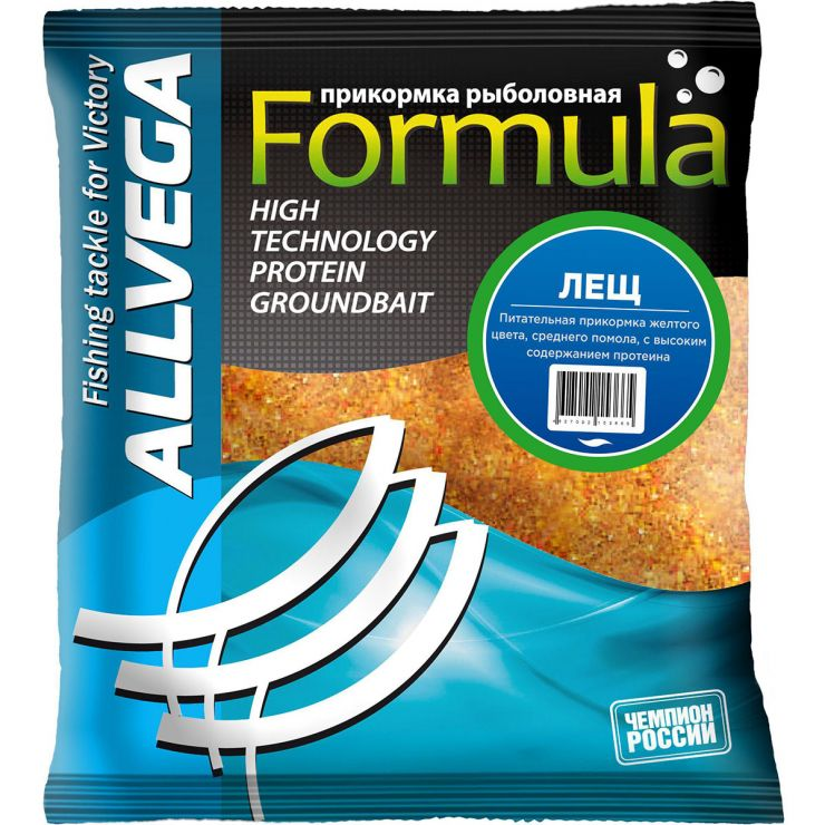 "Прикормка ALLVEGA ""Formula Bream"" 0,5кг (ЛЕЩ)"