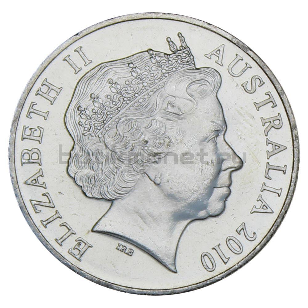 20 центов 2010 Австралия 100 лет налоговому Управлению