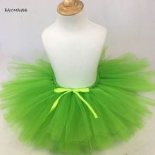 Юбка пачка танцевальная детская зеленая