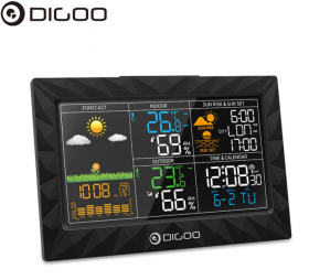 Метеостанция DIGOO DG-TH8988 с внешним радио датчиком