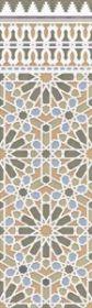 Плитка Aparici Alhambra Rauda Green 29.8×100