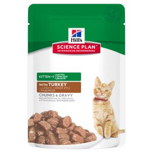 Hill's Science Plan Feline Kitten Turkey 12/85