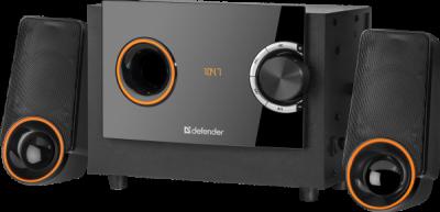 Акустическая 2.1 система X362 36Вт, BT/FM/MP3/SD/USB/LED/RC
