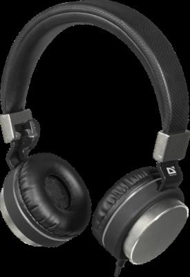 НОВИНКА. Гарнитура для смартфонов Accord 165 черный+серый, кабель 1,2 м