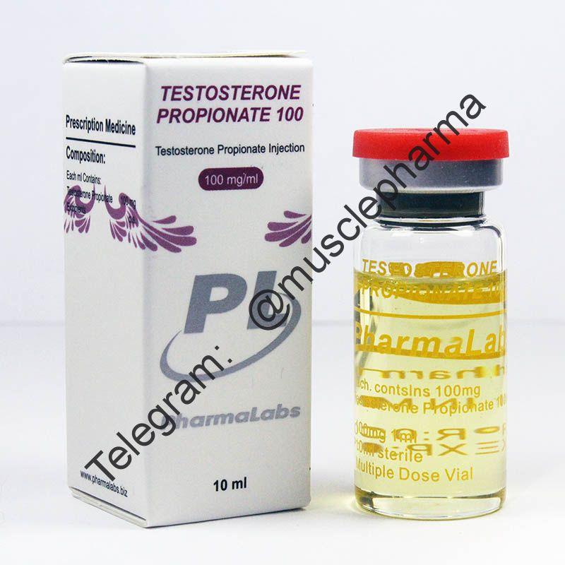 TESTOSTERONE PROPIONATE 100 (ПРОПИОНАТ). PHARMALABS. 1 флакон * 10 мл.