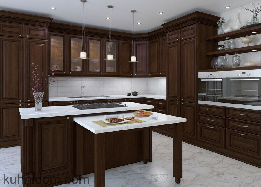 Кухня Лукреция Орех № 2
