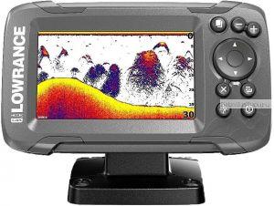 Эхолот Lowrance Hook2-4x GPS Bullet Skimmer CE Row  (Артикул: 000-14015-001)