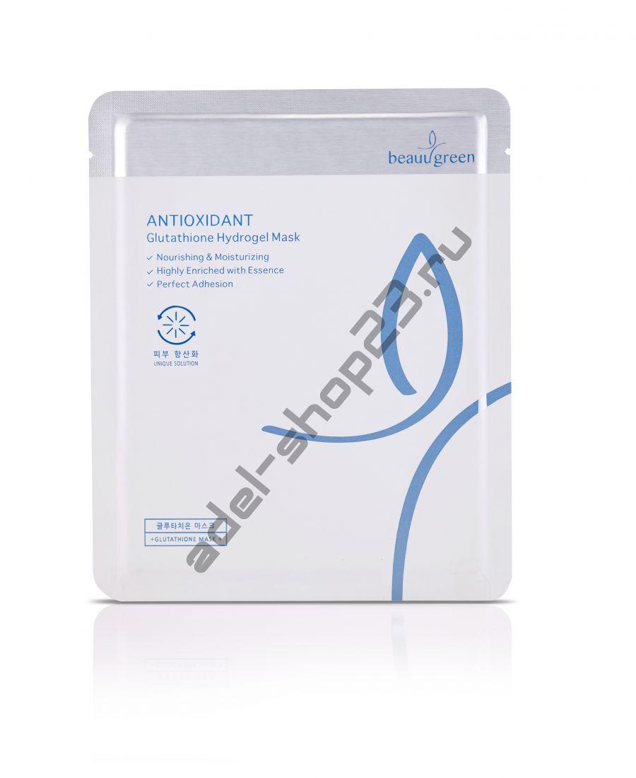 """BEAUUGREEN - Омолаживающая гидрогелевая маска от морщин """"Antioxidant"""""""