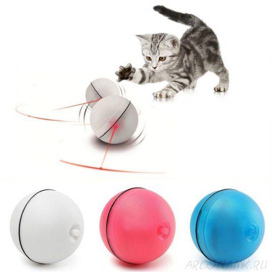 Лазерный шар-игрушка для кошек Magic Led-Ball