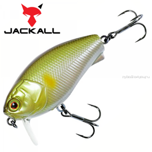 Воблер Jackall Cherry 0 Footer 48F 48 мм / 7,6 гр / Заглубление: 0 - 0,1 м / цвет: pearl ayu