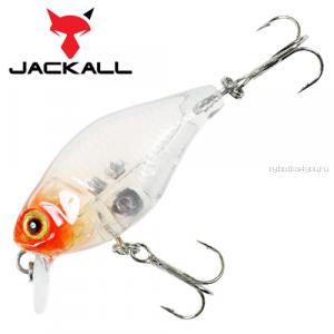 Воблер Jackall Chubby 38мм / 4,2 гр / Заглубление: 0,6 - 1 м / цвет: clear salmon roe head