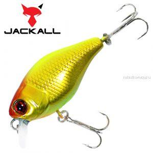 Воблер Jackall Chubby 38мм / 4,2 гр / Заглубление: 0,6 - 1 м / цвет: gold chartreuse