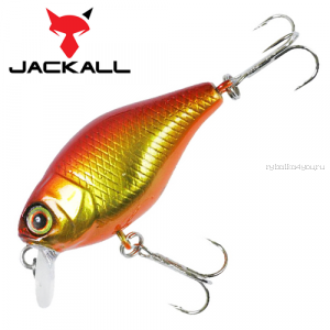 Воблер Jackall Chubby 38мм / 4,2 гр / Заглубление: 0,6 - 1 м / цвет: hl red & gold