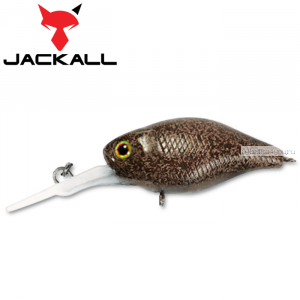 Воблер Jackall Diving Chubby 38F 38 мм / 4,3 гр / Заглубление: 1 - 1,5 м / цвет: tackey brown