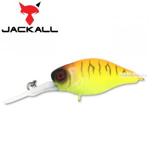 Воблер Jackall Diving Chubby 38F 38 мм / 4,3 гр / Заглубление: 1 - 1,5 м / цвет: tropical mat tiger
