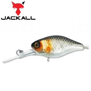 Воблер Jackall Diving Chubby 38F 38 мм / 4,3 гр / Заглубление: 1 - 1,5 м / цвет: uv mat silver &
