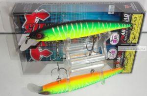 Воблер Jackall Mag Squad 115SP 115 мм / 16 гр / Заглубление: 1 - 1,5 м / цвет: uv mat tiger