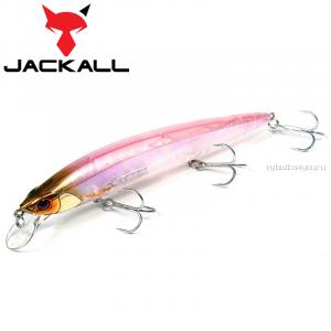 Воблер Jackall Rerange 130SP 130 мм / 21,5 гр / Заглубление: 1,5 - 2 м / цвет: sexy clear pink
