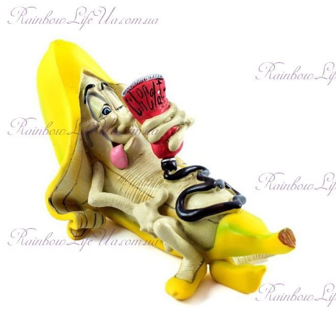 "Фигурка банан в шоколаде ""W.Stratford"""