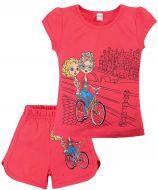 Комплект для девочек 4-8 лет Bonito BK004FS5
