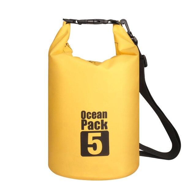Водонепроницаемая Сумка-Мешок Ocean Pack, 5 L, Цвет Желтый