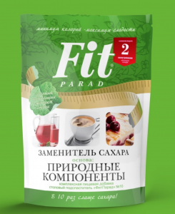 ФИТПАРАД Заменитель сахара №10 в ДОЙ-ПАКЕ 200 грамм (1:10)