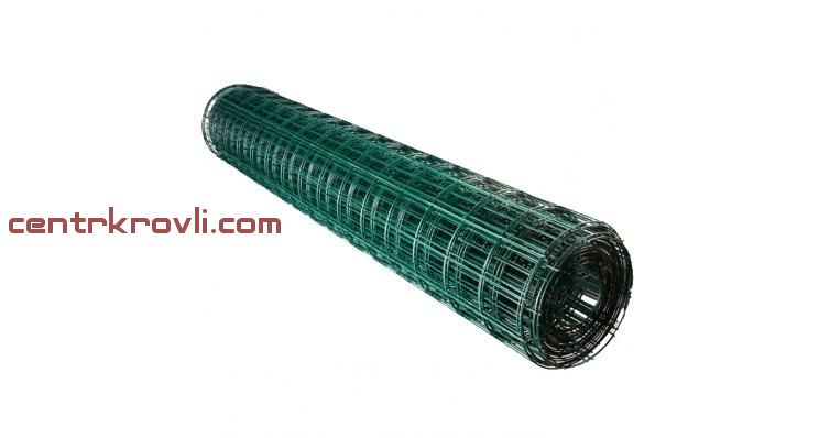 Сетка Europlast 2,20/100/50 1,5х25м зеленый RAL 6005