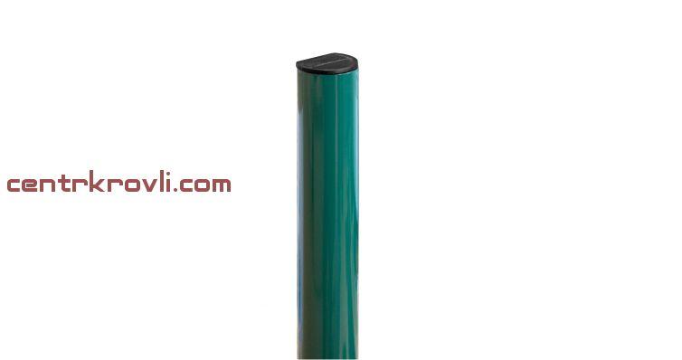 Столб 51х1,2х2500 RAL 6005 Цена 677 руб/шт