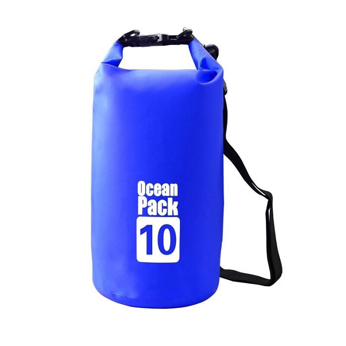 Водонепроницаемая сумка-мешок Ocean Pack, 10 L, цвет синий