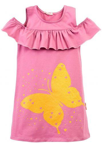 Платье на девочки 7-10 лет Bonito BK1176P сиреневое