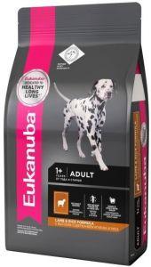 EUK Dog корм для взрослых собак всех пород ягненок