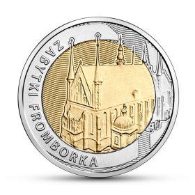Исторический центр Фромборка 5 злотых Польша 2019
