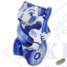 Гжель Символ Года 2020 ОПТОМ - Мышонок 7х4х3,5см