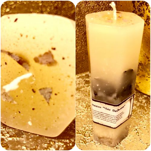 """Мистическая свеча для женской магии """"Час Ведьмы"""""""