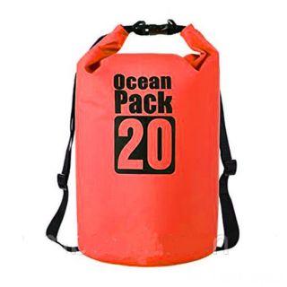 Водонепроницаемая сумка-мешок Ocean Pack, 20 L, Цвет: Красный