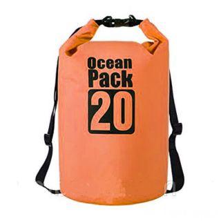 Водонепроницаемая сумка-мешок Ocean Pack, 20 L, Цвет: Оранжевый