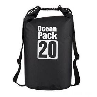 Водонепроницаемая сумка-мешок Ocean Pack, 20 L, Цвет: Черный
