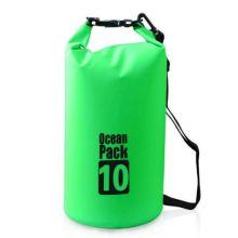 Водонепроницаемая сумка-мешок Ocean Pack, 10 L, Цвет: Зеленый