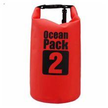Водонепроницаемая сумка-мешок Ocean Pack, 2 L, Цвет: Красный
